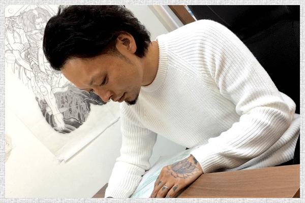 タトゥーアーティスト正彩